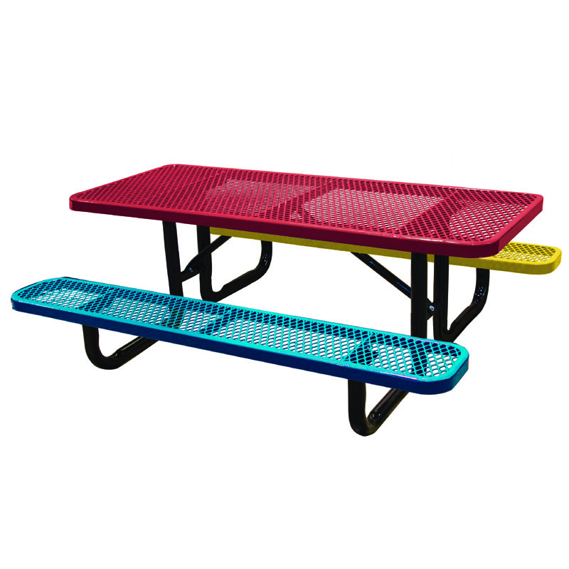 Picnic Tables Childforms - Standard picnic table size