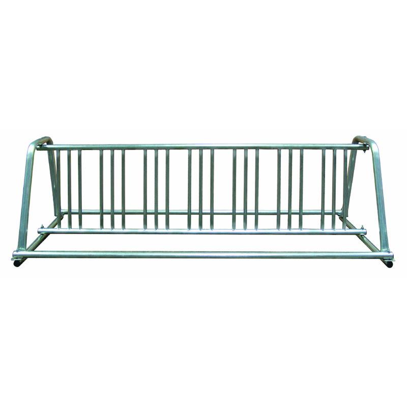 10' A-Frame Galvanized Bike Rack