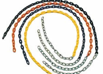 Plastisol Coated Chain (5.5′) Blue, Green Red Yellow