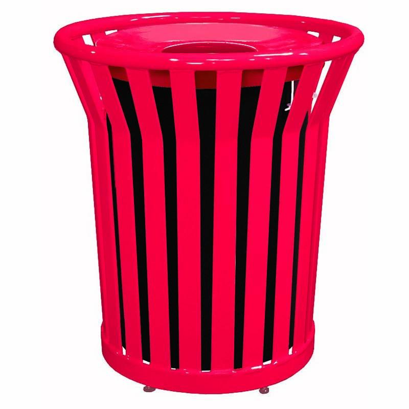 32 Gallon Strap Trash Receptacle