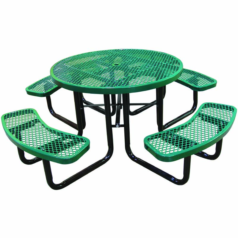 """46"""" Round Expanded Metal Table"""
