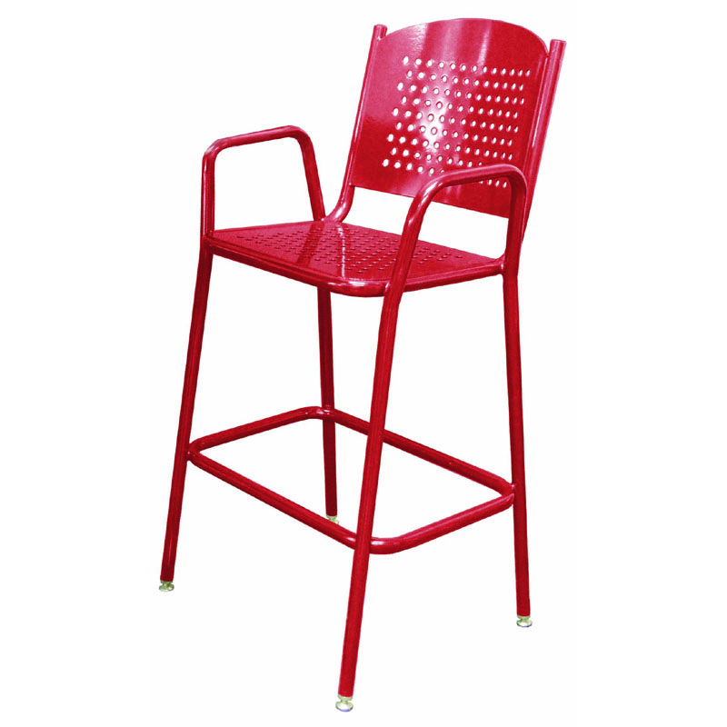"""46"""" Tall Perforated Chair"""