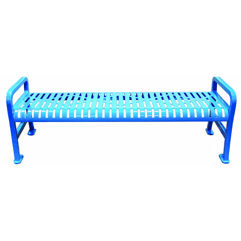6' Diamond Metal Bench