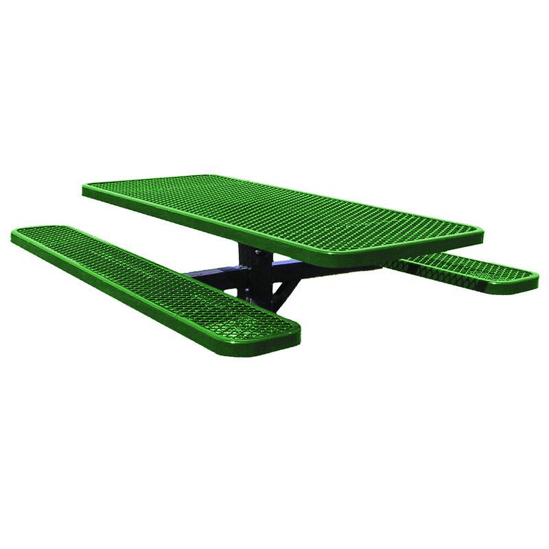 6' Single Post Picnic Table