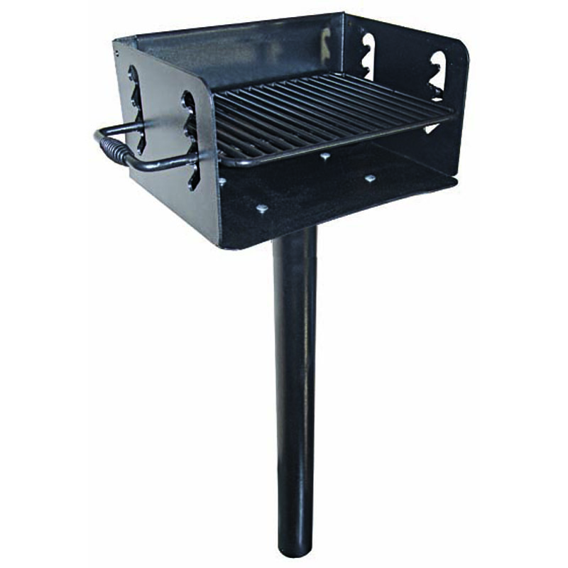 Grill, In-ground Mount