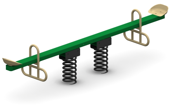 Two Seat Teeter Totter
