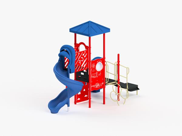 Quick Ship Playground Equipment Structure 3
