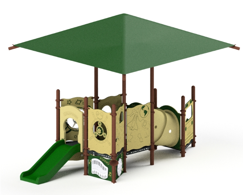 Ages 6 to 23 Month Playground Equipment