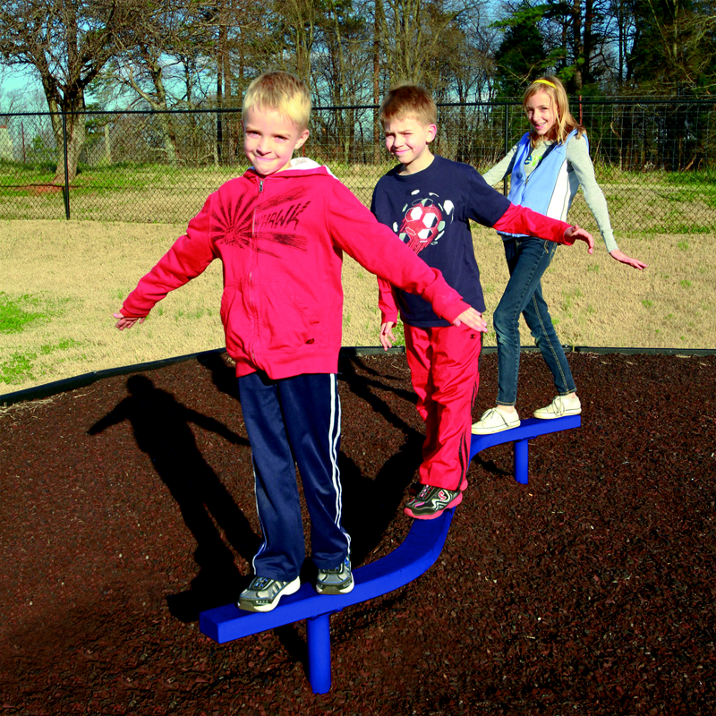 Playground Balancing Beams