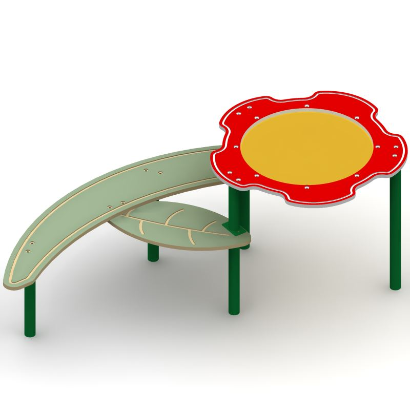 Single Bowl Flower Sand & Water Table