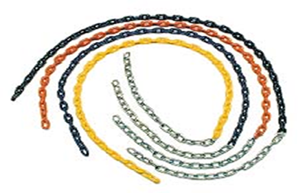 Tire & Plastisol Coated Chain Assembly