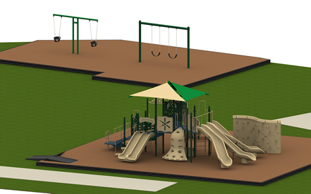 Renaissance Towers Complete Playground Package 2
