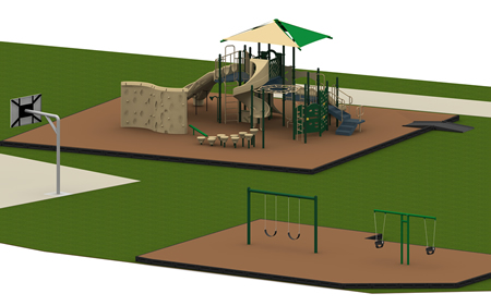 Renaissance Towers Complete Playground Package