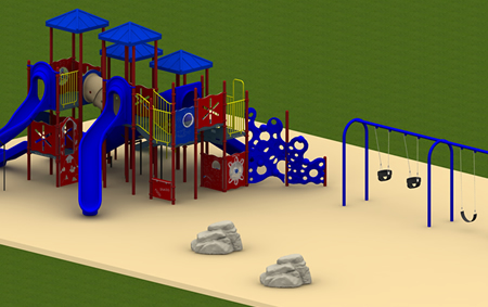 Rocky Mount Complete Playground Package 2