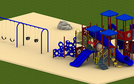 Rocky Mount Complete Playground Package