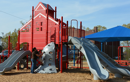 Eli Whitney Recreation Center Complete Playground Package 2