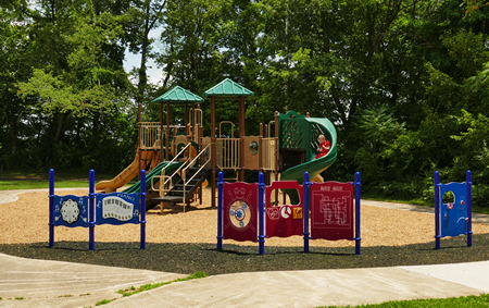 Martin Luther King Center Complete Playground Package 2