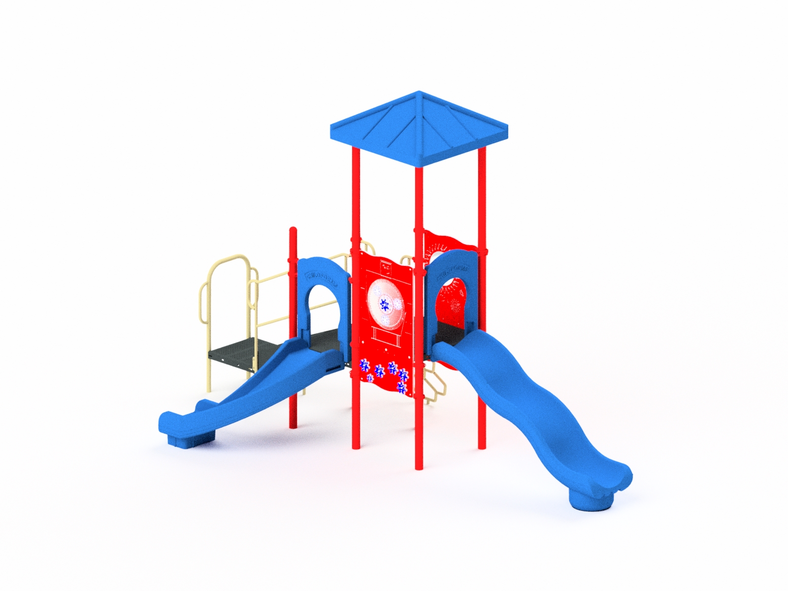 Quick Ship Playground Equipment Structure 2