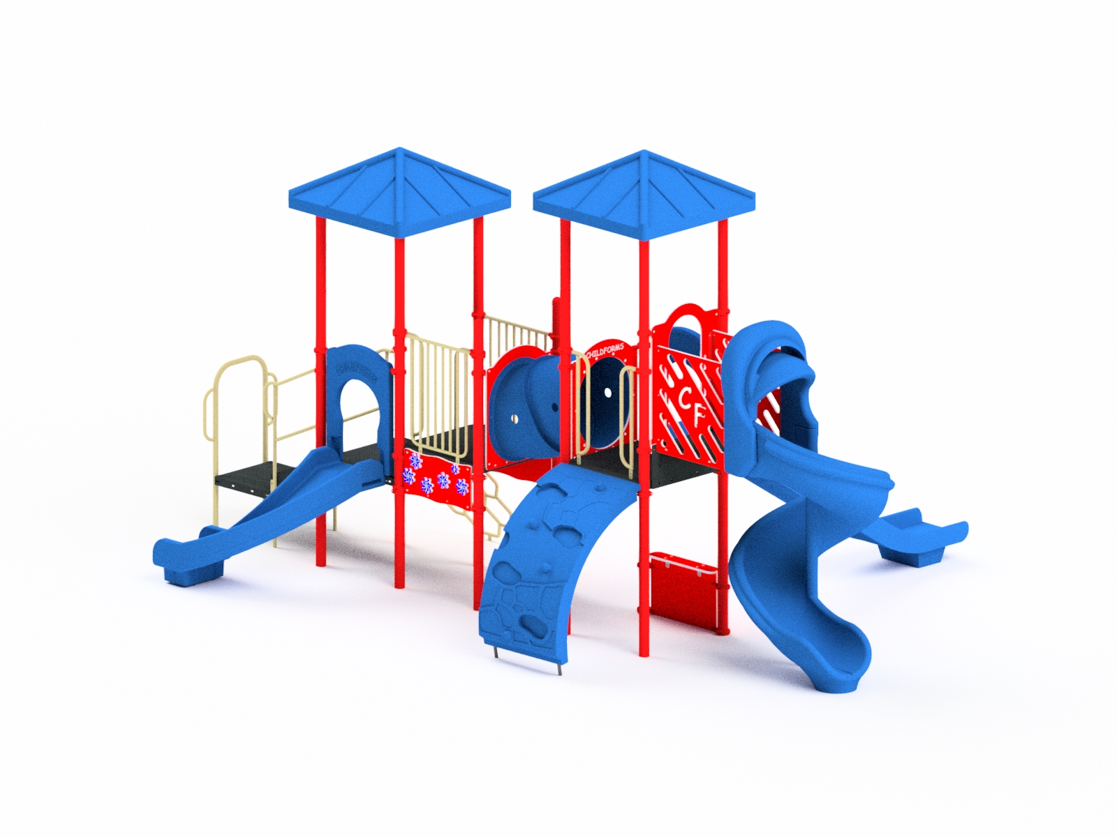 Quick Ship Playground Equipment Structure 4
